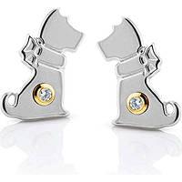 boucles d'oreille femme bijoux Nomination SYMPHONY 026251/015