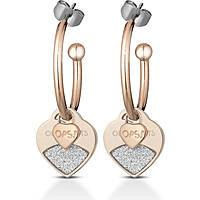 boucles d'oreille femme bijoux Ops Objects Glitter OPSOR-435
