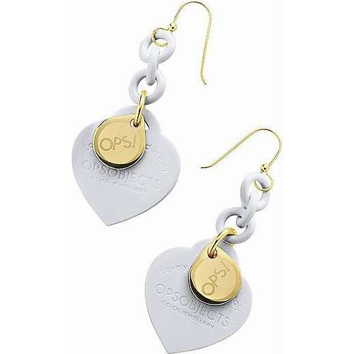 boucles d'oreille femme bijoux Ops Objects Ops Love OPSOR-28