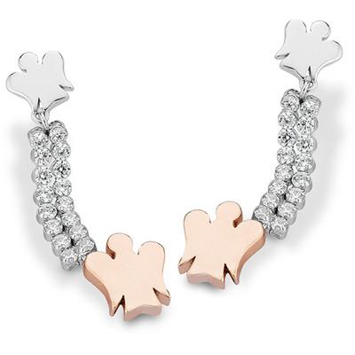 boucles d'oreille femme bijoux Roberto Giannotti Angeli GIA249