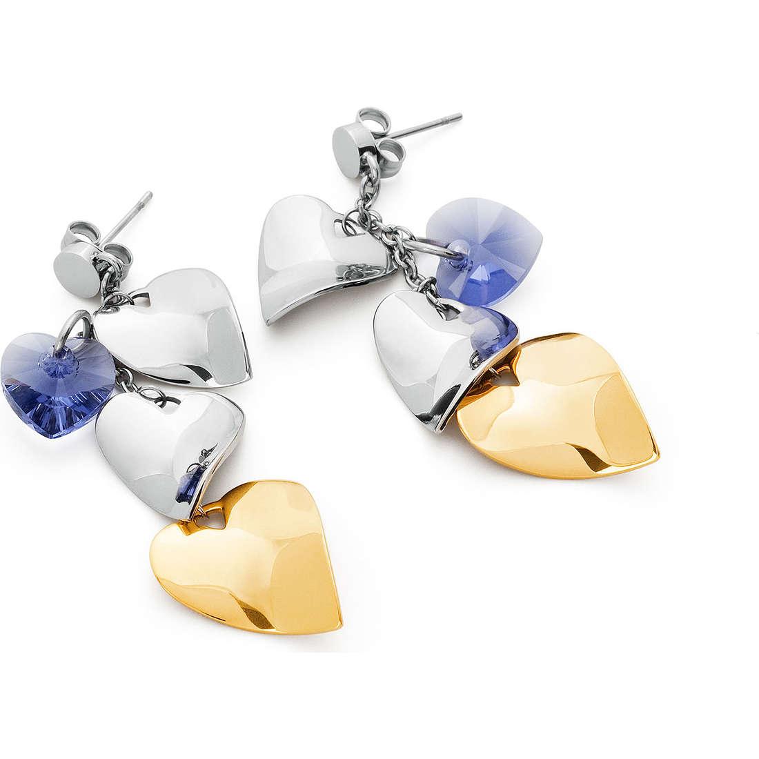 boucles d'oreille femme bijoux Sagapò Drops SPS21