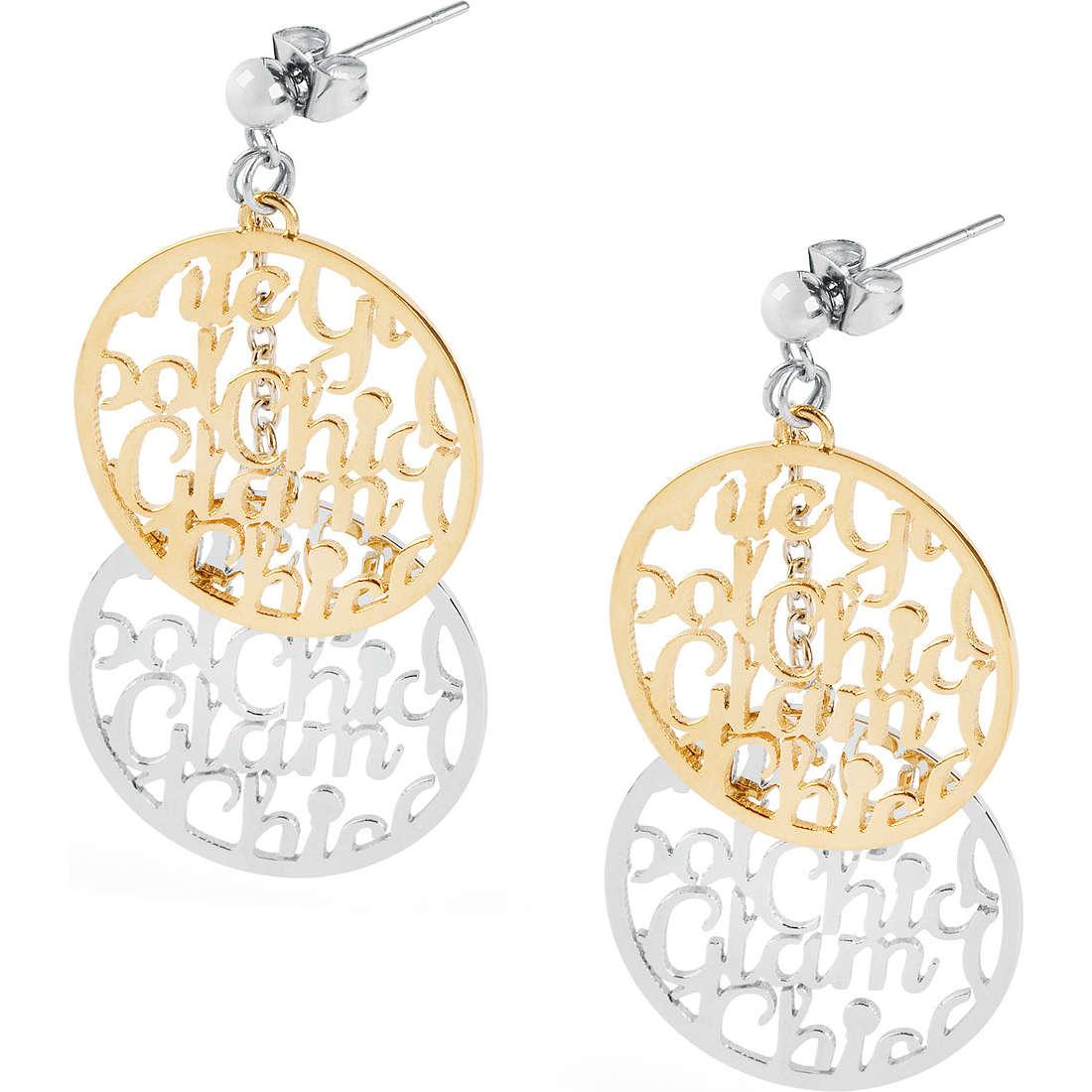 boucles d'oreille femme bijoux Sagapò Glamchic SGC21