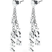 boucles d'oreille femme bijoux Sagapò Love is glam SLG12