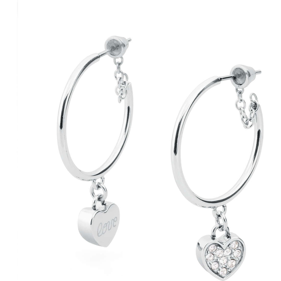 boucles d'oreille femme bijoux Sagapò Romance SRN21