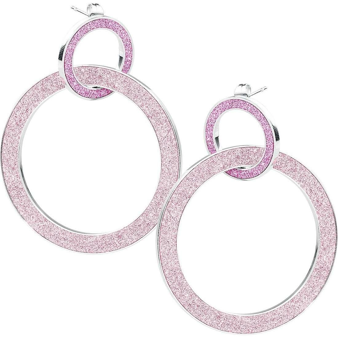 boucles d'oreille femme bijoux Sagapò Trinidad STR34