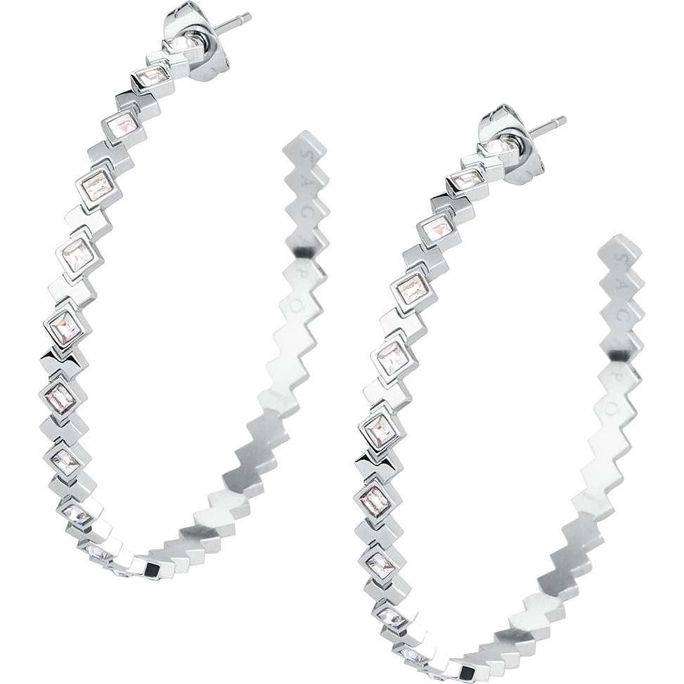 boucles d'oreille femme bijoux Sagapò Victoria SVC22