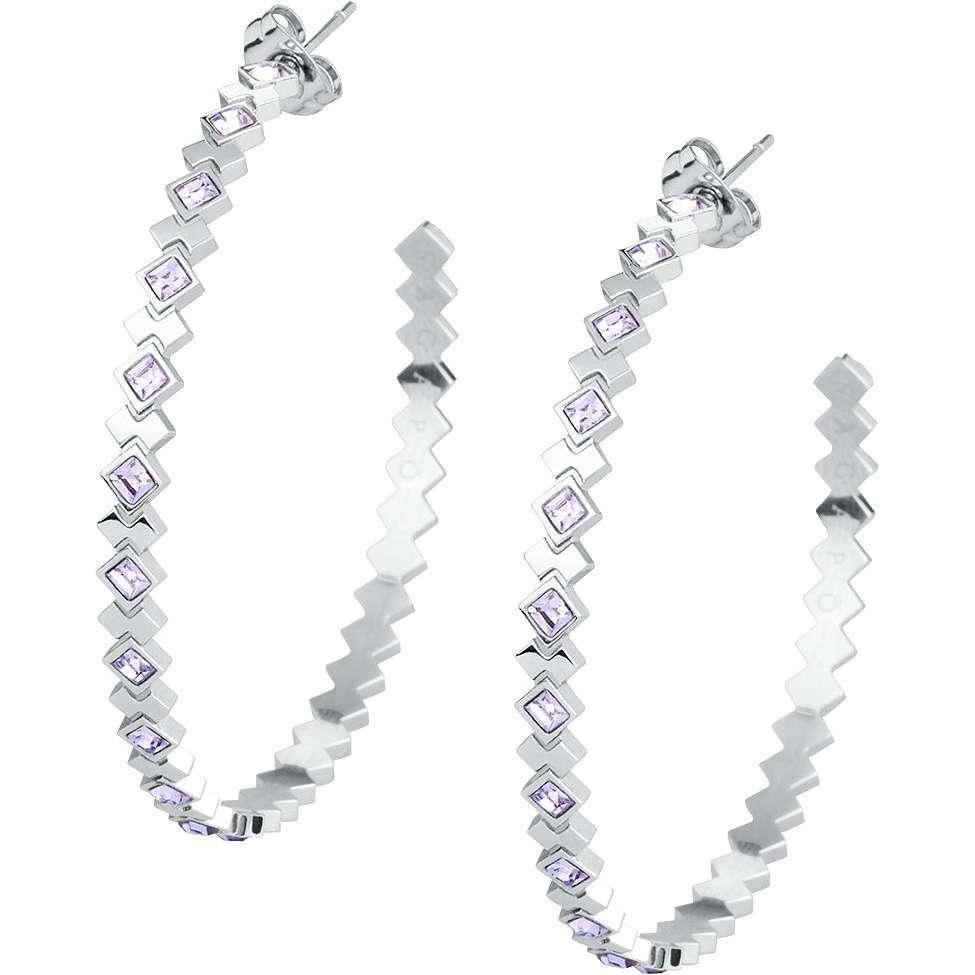 boucles d'oreille femme bijoux Sagapò Victoria SVC23