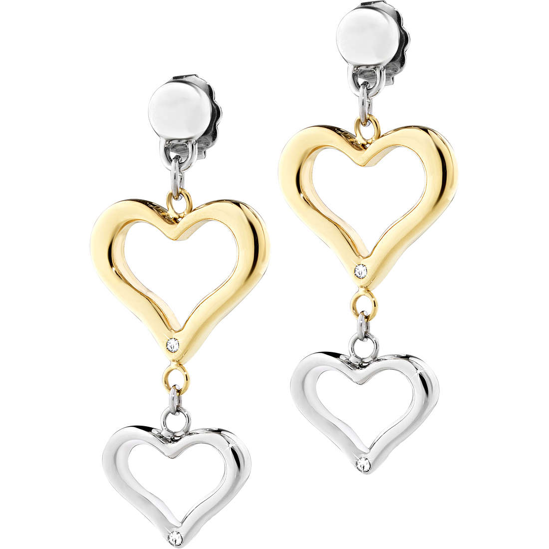 boucles d'oreille femme bijoux Sector Family & Love SACN22