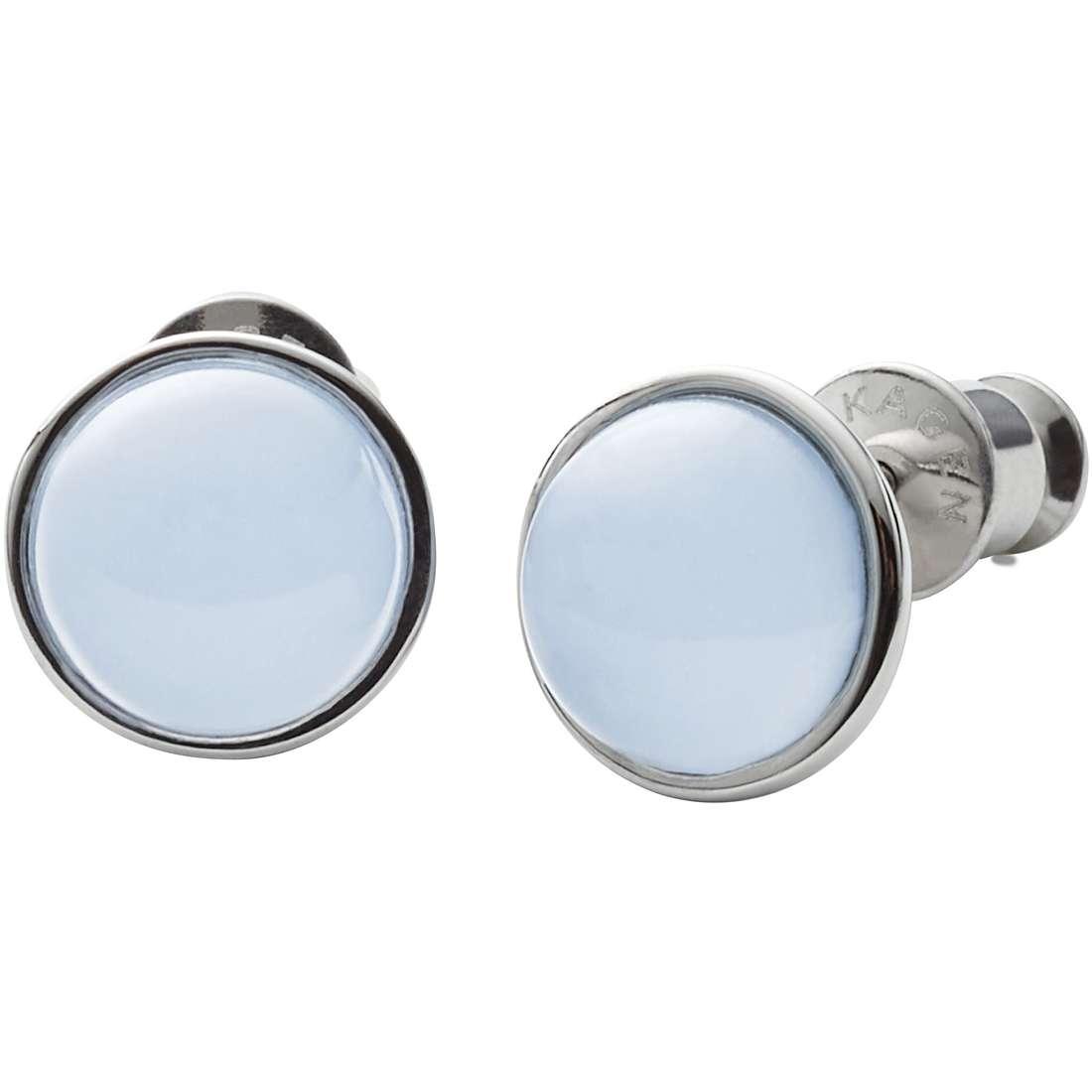 boucles d'oreille femme bijoux Skagen Sea Glass SKJ0820040