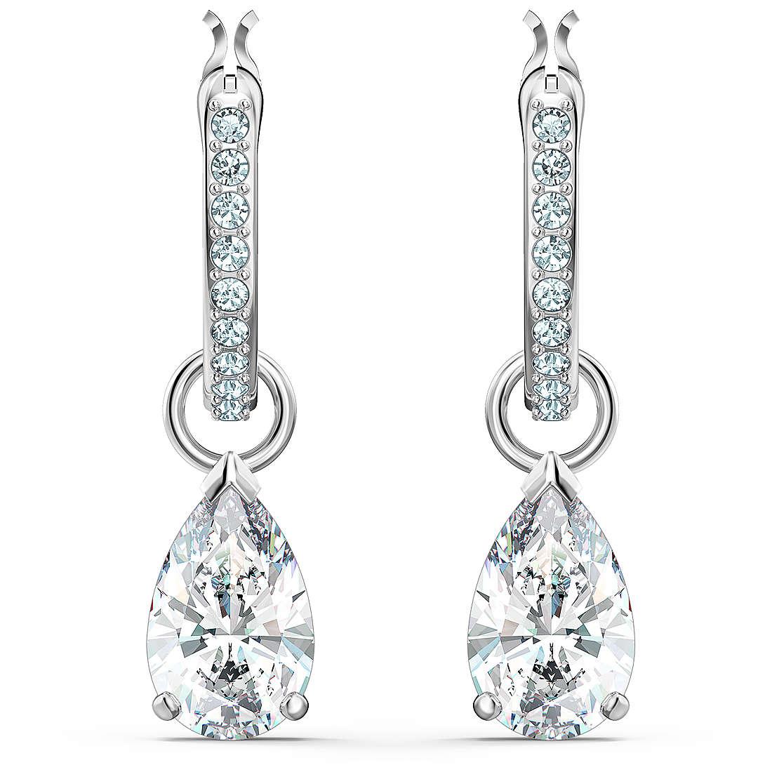 boucles d'oreille femme bijoux Swarovski Attract 5563119