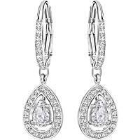boucles d'oreille femme bijoux Swarovski Attract Light 5197458