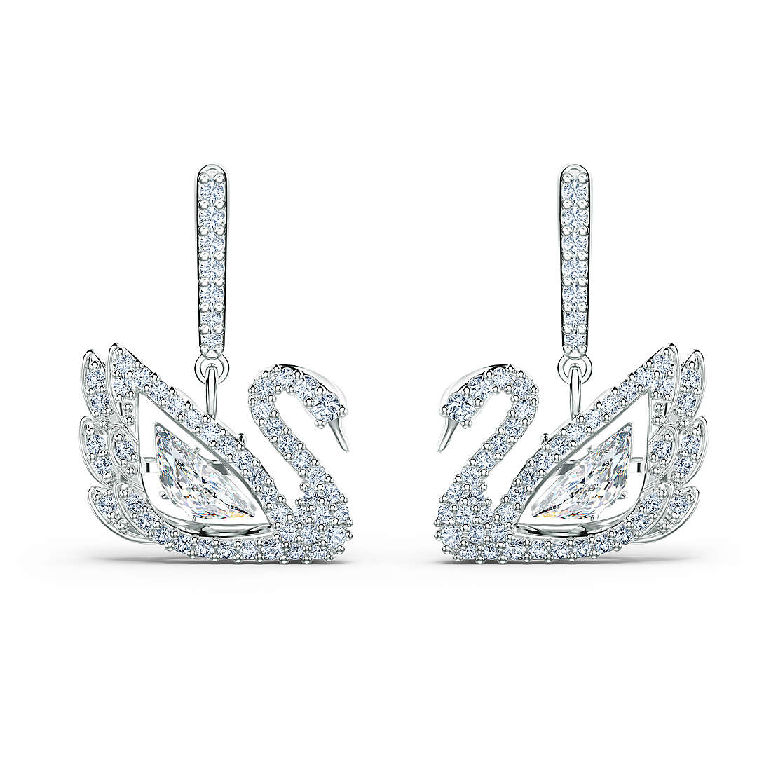 boucles d'oreille femme bijoux Swarovski Dancing Swan 5514420
