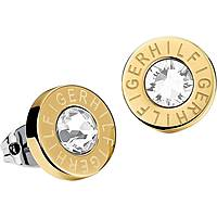 boucles d'oreille femme bijoux Tommy Hilfiger Classic Signature THJ2700753