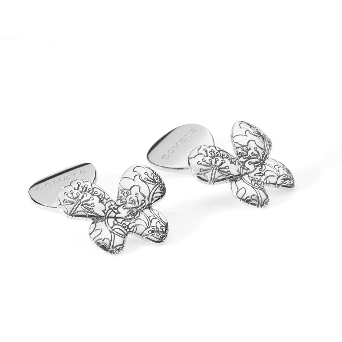 boutons de manchettes femme bijoux Comete Farfalle UGM 162