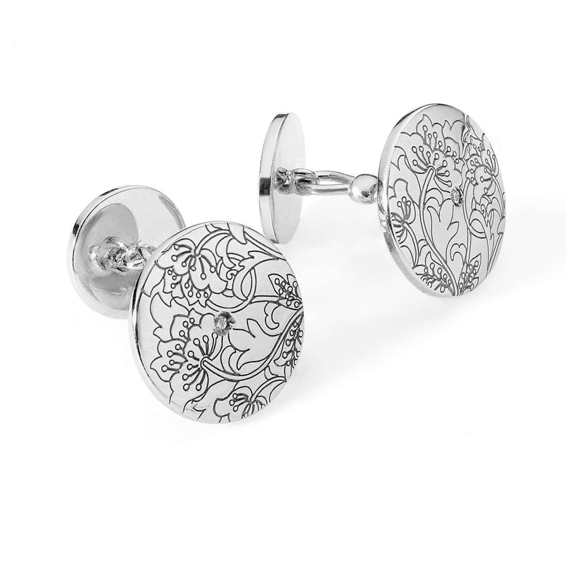 boutons de manchettes femme bijoux Comete Farfalle UGM 166