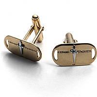 boutons de manchettes homme bijoux Cesare Paciotti Gold Foil JPGE1404G