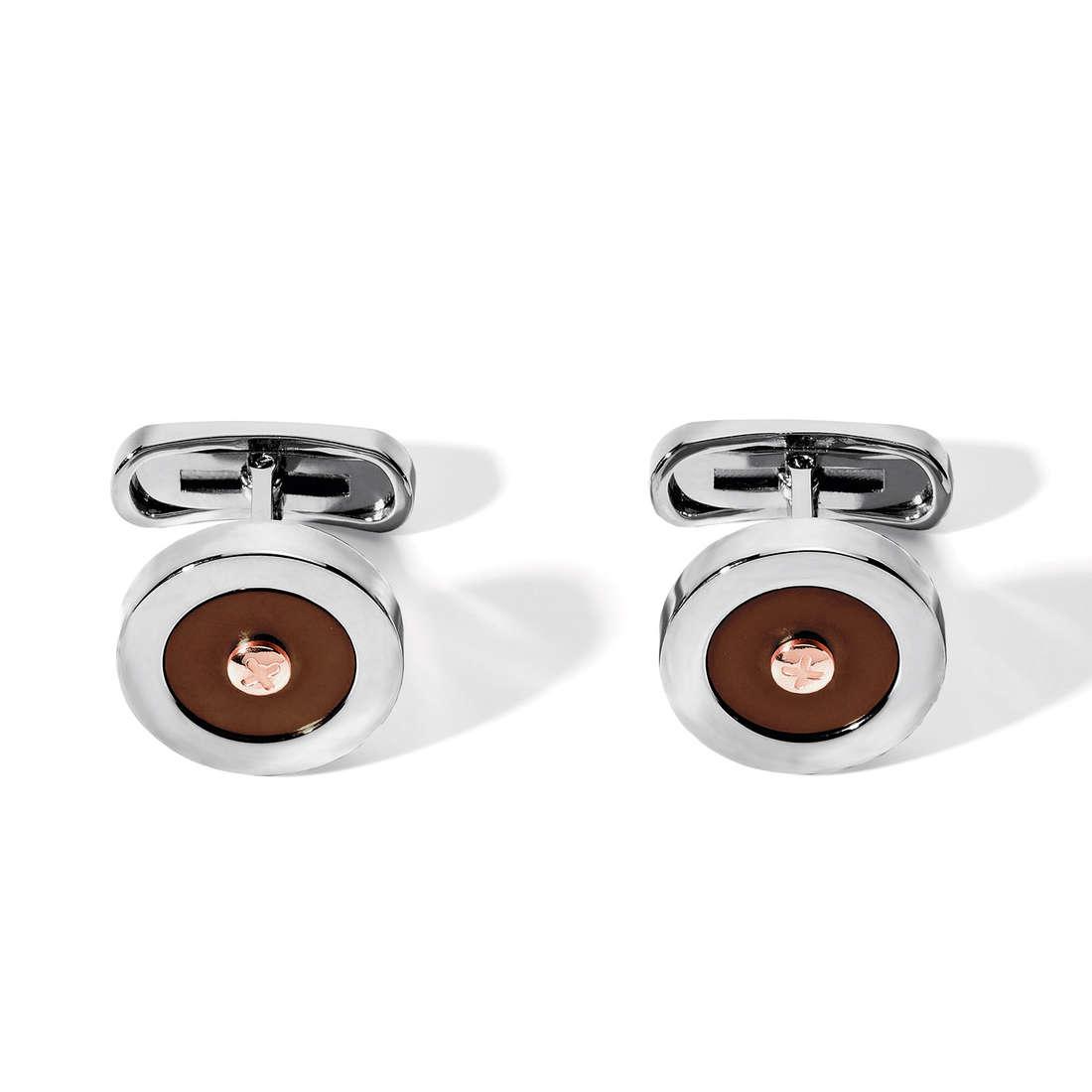 boutons de manchettes homme bijoux Comete Acciaio UGM 138