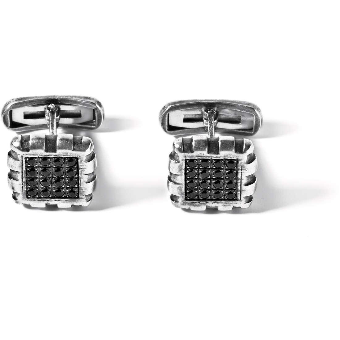 boutons de manchettes homme bijoux Comete Argento 925 UGM 143