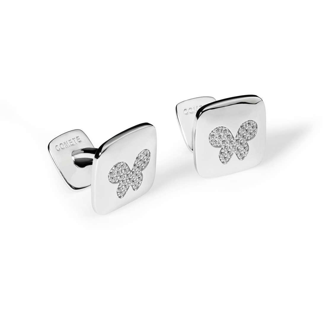 boutons de manchettes homme bijoux Comete Farfalle UGM 173