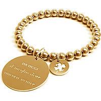 Bracciale Donna 10 Buoni Propositi Il Meglio Deve Ancora Venire Gold Collezione Classic Gold B4832/GO