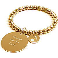 Bracciale Donna 10 Buoni Propositi Me La Tiro Gold Collezione Classic Gold B4370/GO