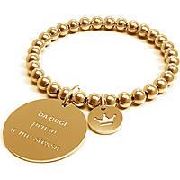 Bracciale Donna 10 Buoni Propositi Penso A Me Stessa Gold Collezione Classic Gold B4301/GO