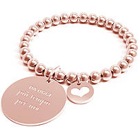Bracciale Donna 10 Buoni Propositi Più Tempo Per Noi Rose Collezione Classic Rose Gold B4437/RO