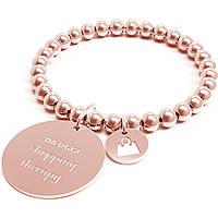 Bracciale Donna 10 Buoni Propositi Shopping Therapy Rose Collezione Classic Rose Gold B4525/RO