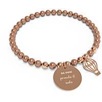 bracciale donna gioielli 10 Buoni Propositi Bon Bon B5124RO/PE