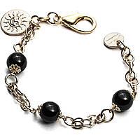 bracciale donna gioielli 4US Cesare Paciotti Black Pearls 4UBR1812W
