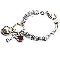 bracciale donna gioielli 4US Cesare Paciotti Heart Code 4UBR1804W