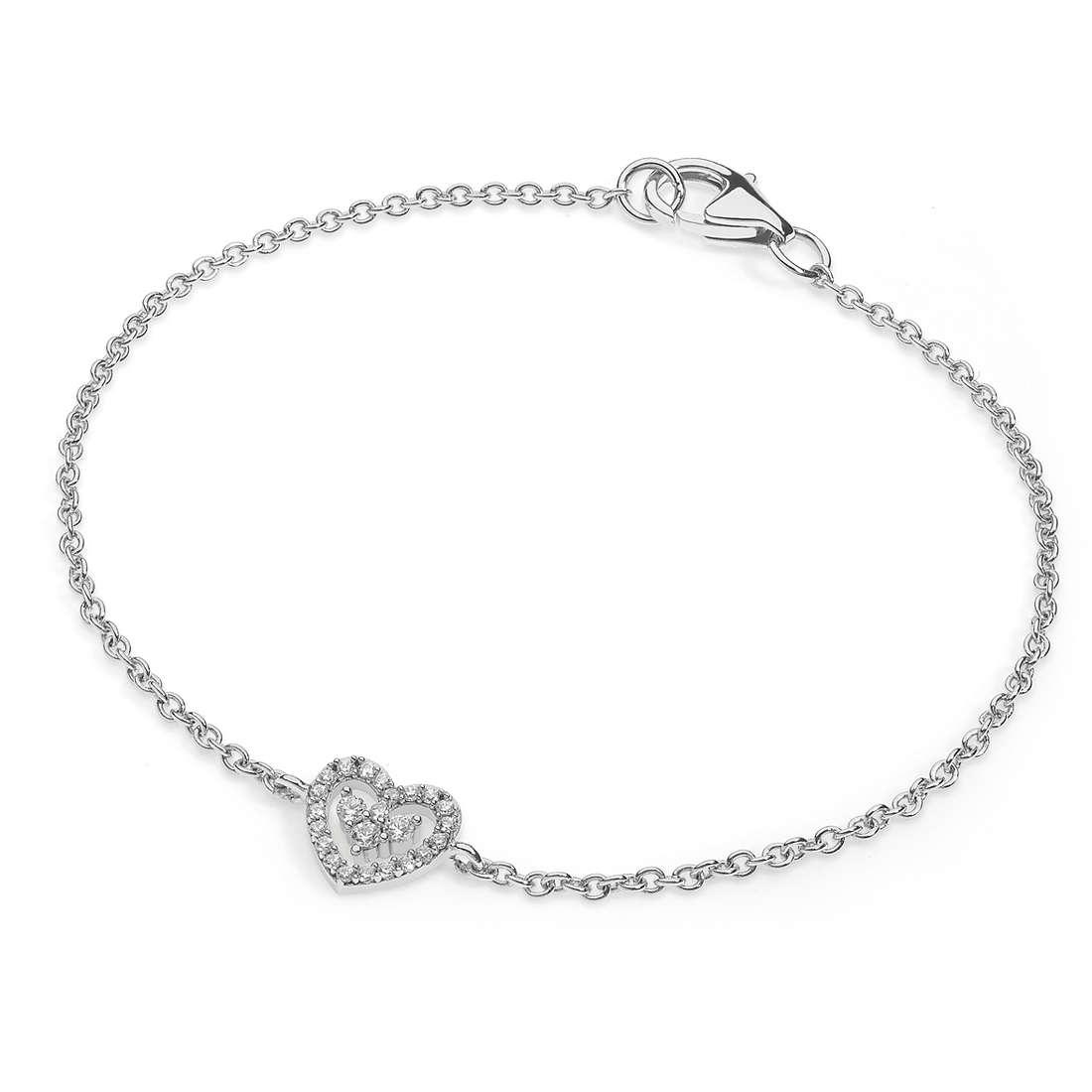 bracciale donna gioielli Ambrosia Glam Love AAB 144