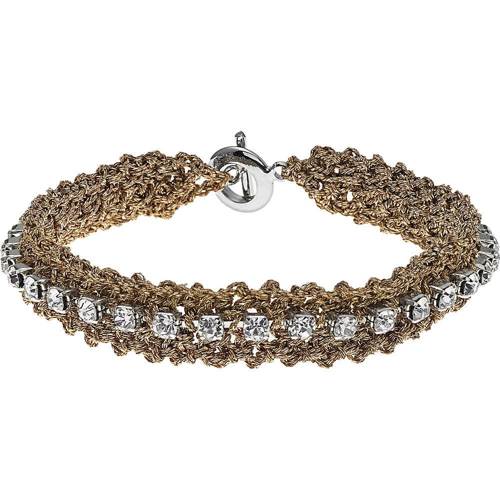 bracciale donna gioielli Ambrosia Uncinetto ABB 047