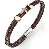 bracciale donna gioielli Amen Croce CR05R-19