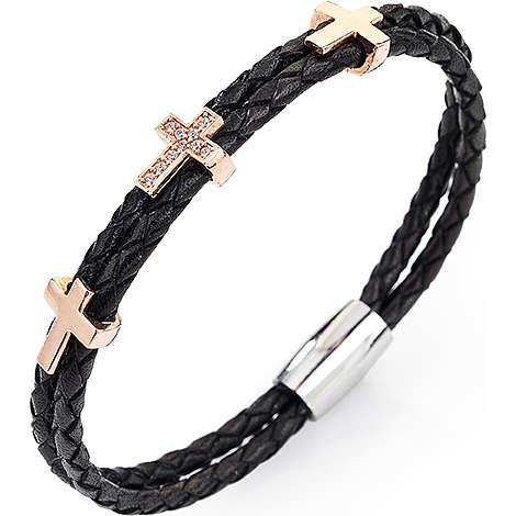 bracciale donna gioielli Amen Croce CR302R-20