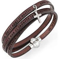 bracciale donna gioielli Amen Padre Nostro Italiano AS-PNIT05-54