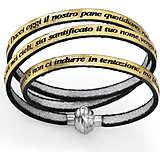 bracciale donna gioielli Amen Padre Nostro PNIT19-57