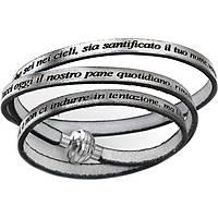 bracciale donna gioielli Amen Padre Nostro PNIT20-57