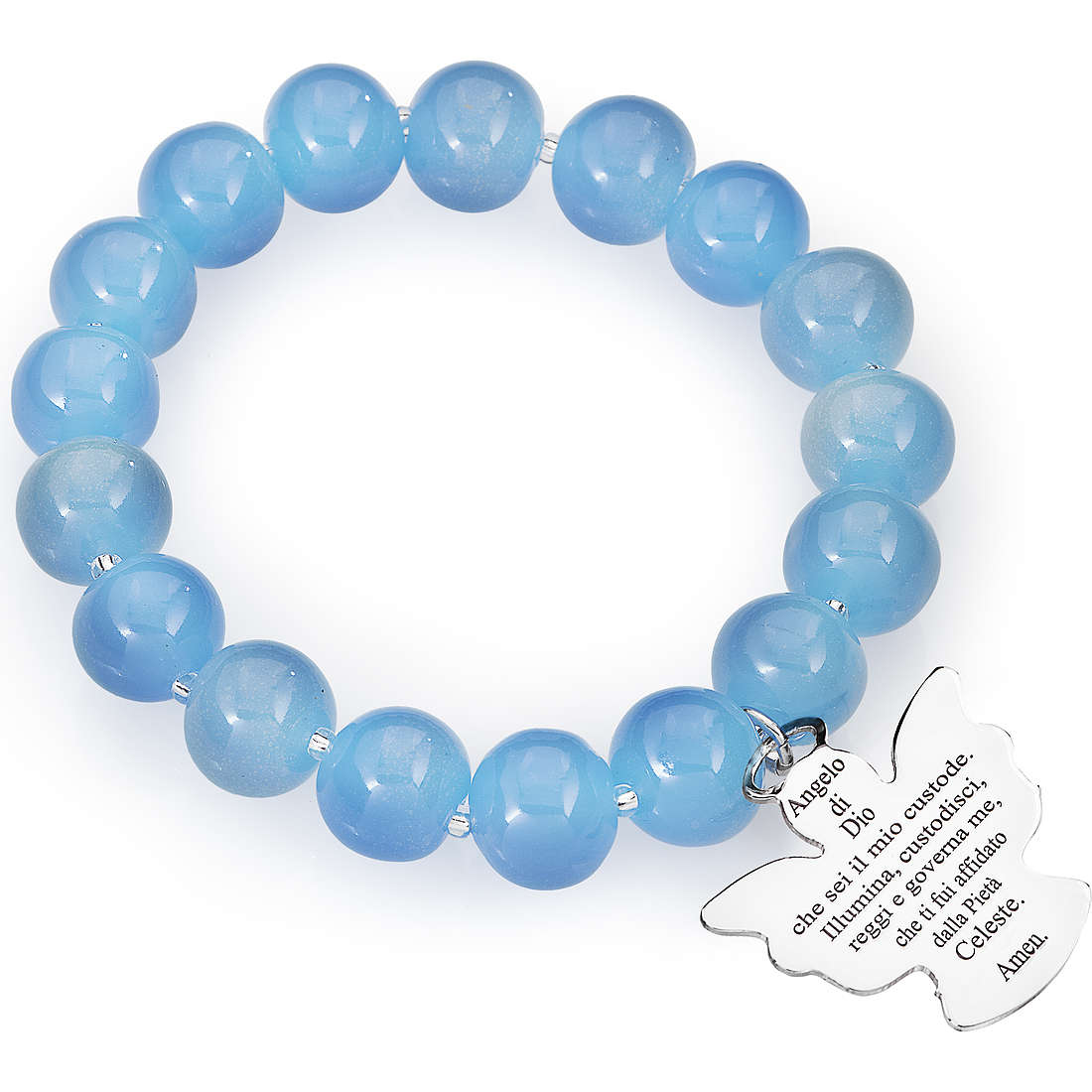 bracciale donna gioielli Amen Perle Murano AD10BL