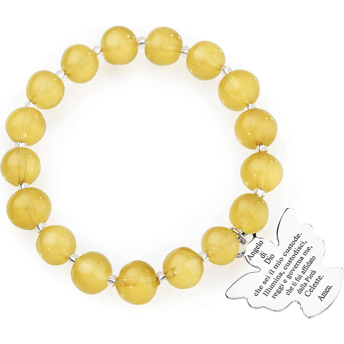 bracciale donna gioielli Amen Perle Murano AD10TP