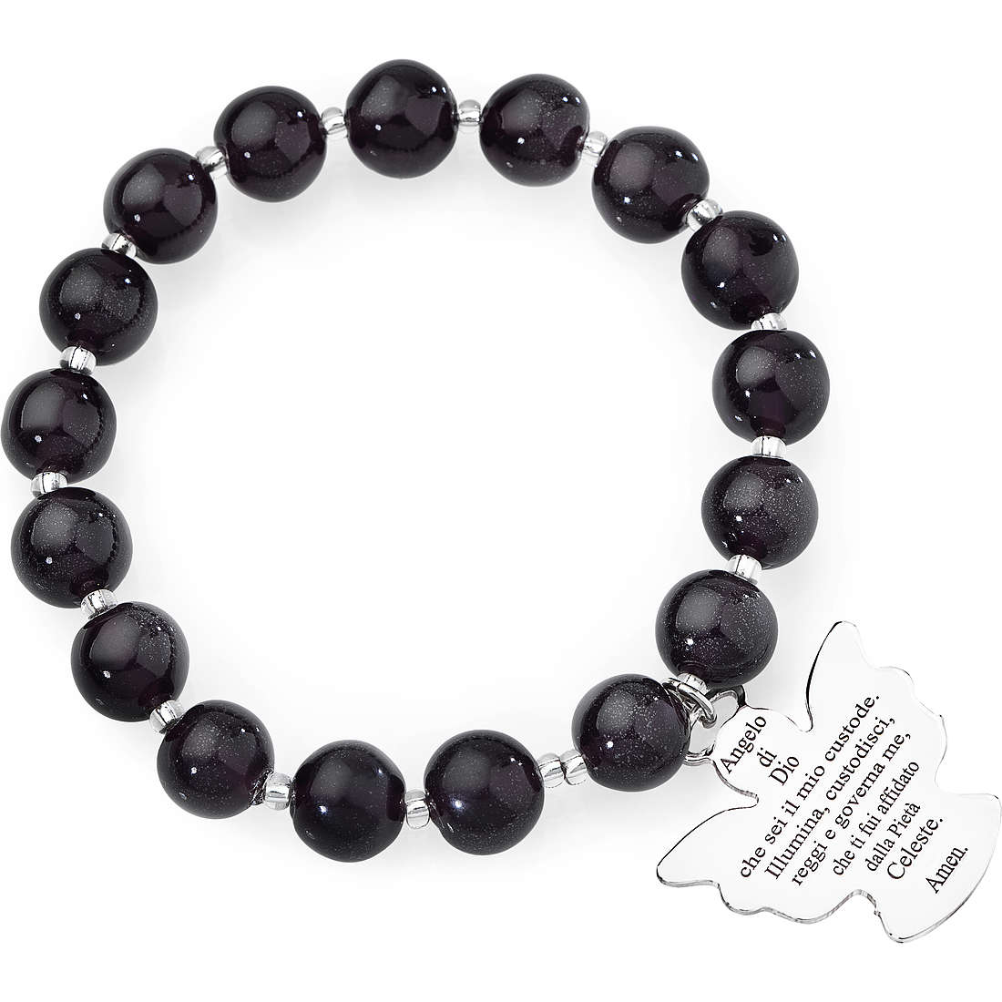 bracciale donna gioielli Amen Perle Murano AD10VS