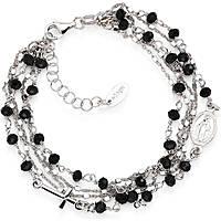 bracciale donna gioielli Amen Rosari BRMF