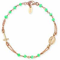bracciale donna gioielli Amen Rosari BRORM3