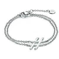 bracciale donna gioielli Brand Hashtag 01BR001