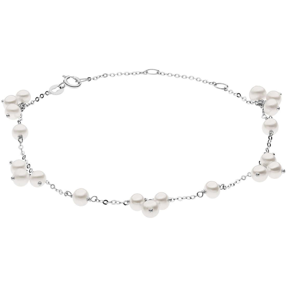 bracciale donna gioielli Comete Fantasie di perle BRP 159