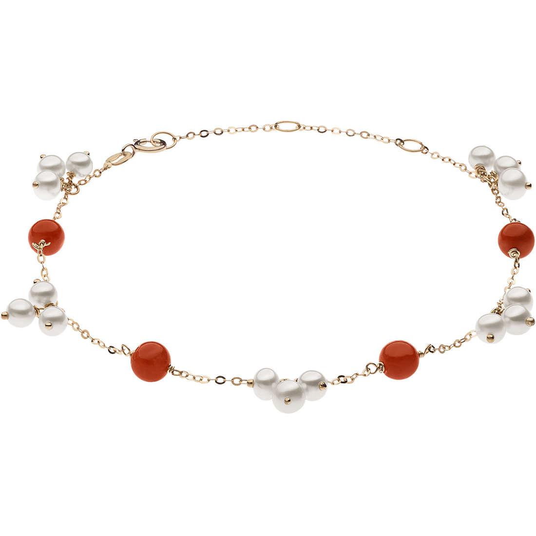 bracciale donna gioielli Comete Fantasie di perle BRP 160
