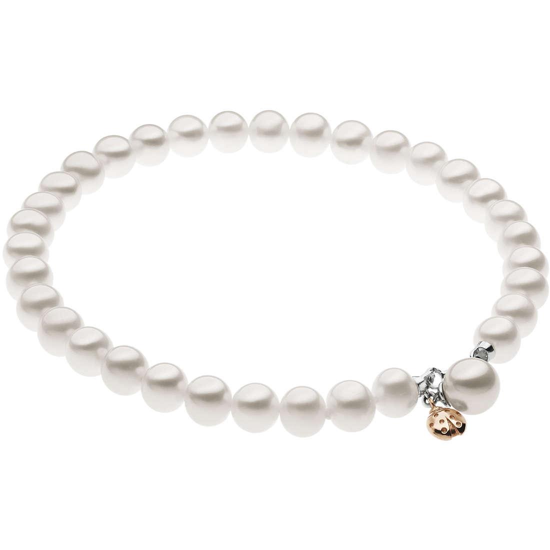 bracciale donna gioielli Comete Fantasie di perle BRQ 210