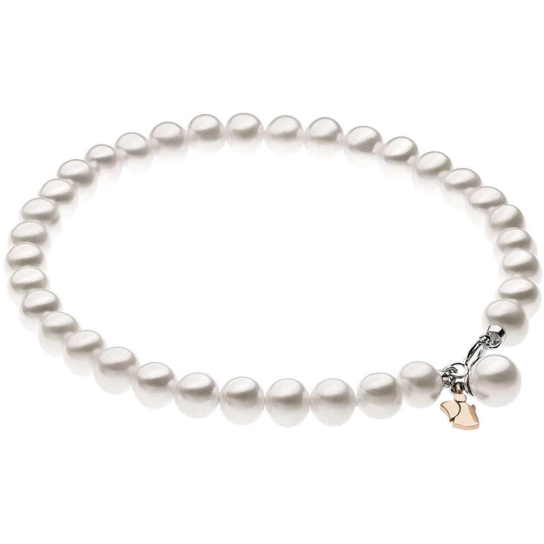 bracciale donna gioielli Comete Fantasie di perle BRQ 211