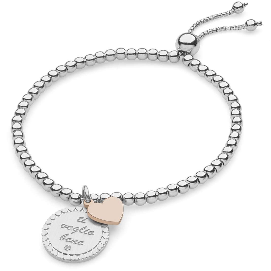 bracciale donna gioielli Comete Love Tag BRA 148