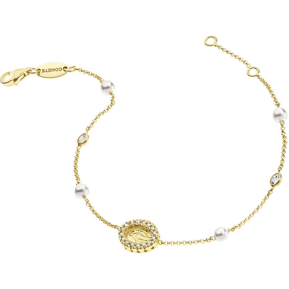 bracciale donna gioielli Comete Perla BRA 120